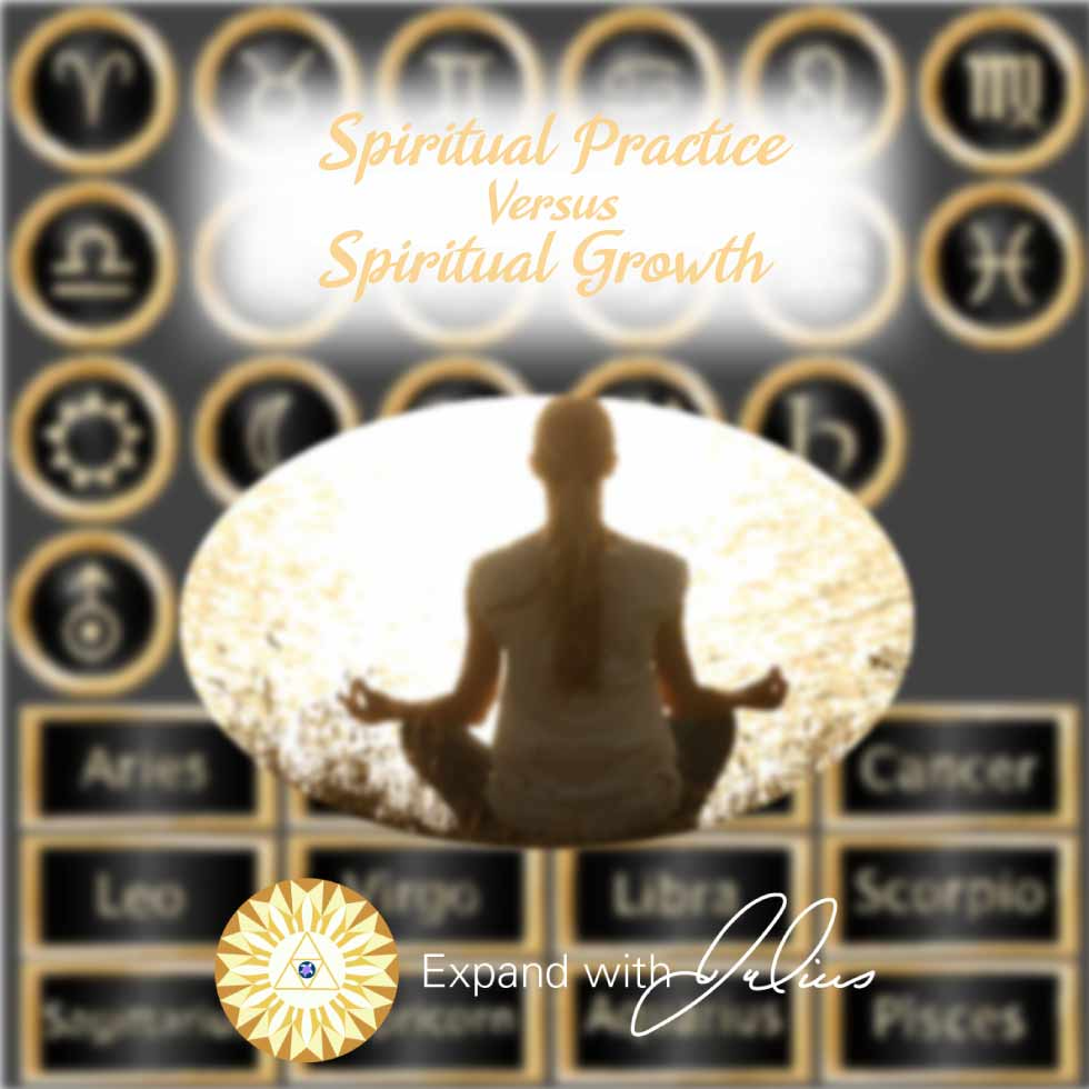 Spiritual Practice vs Spiritual Growth | Expand with Julius and Xpnsion Network