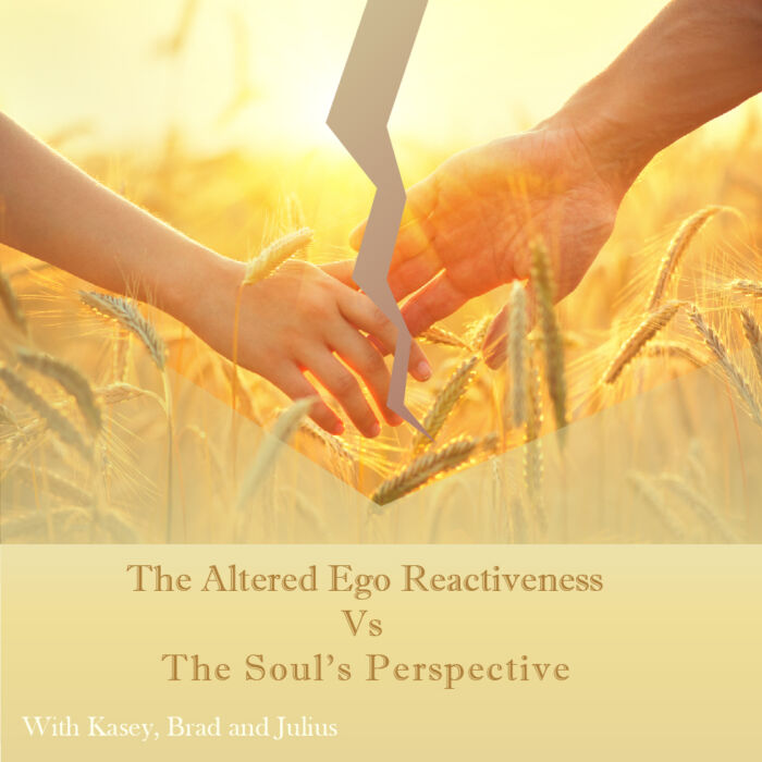 Separating The Altered Ego Reactiveness From The Soul's Perspective | Expand with Julius and Xpnsion Network