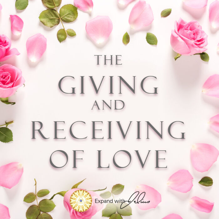 The Giving And Receiving Of Love | Expand with Julius and Xpnsion Network