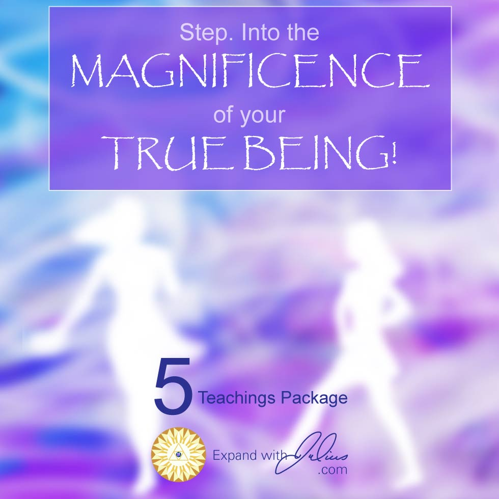 Step. Into The Magnificence Of Your True Being!   Expand with Julius and Xpnsion Network