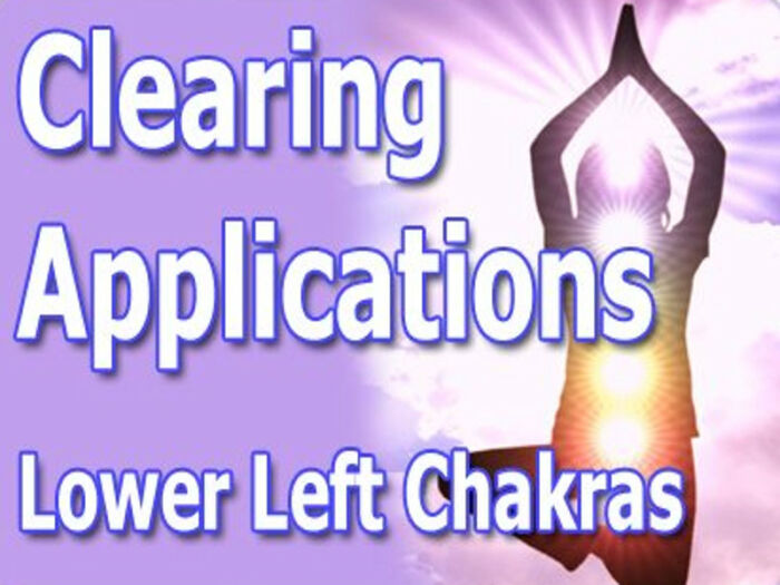 Clearing Applications For Lower Left Chakras | Expand with Julius and Xpnsion Network