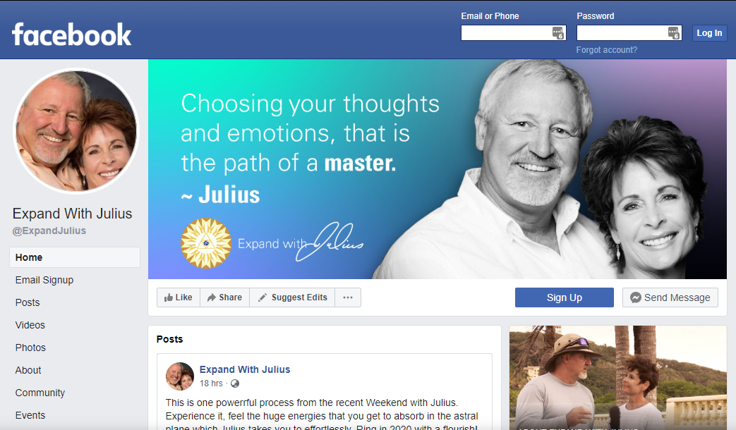 facebook expand with julius | Expand with Julius and Xpnsion Network