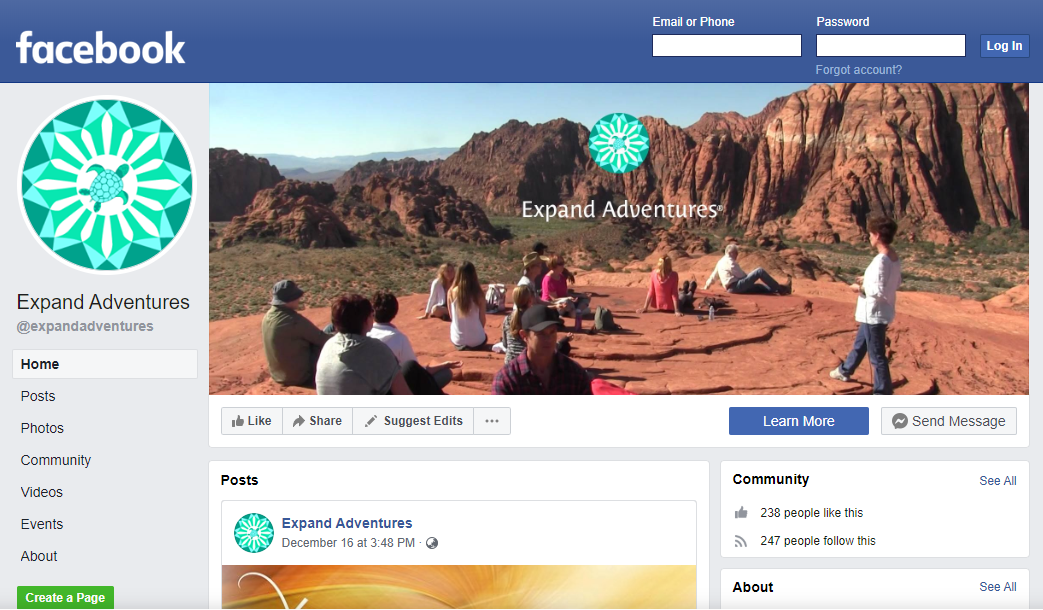 facebook expand adventures | Expand with Julius and Xpnsion Network