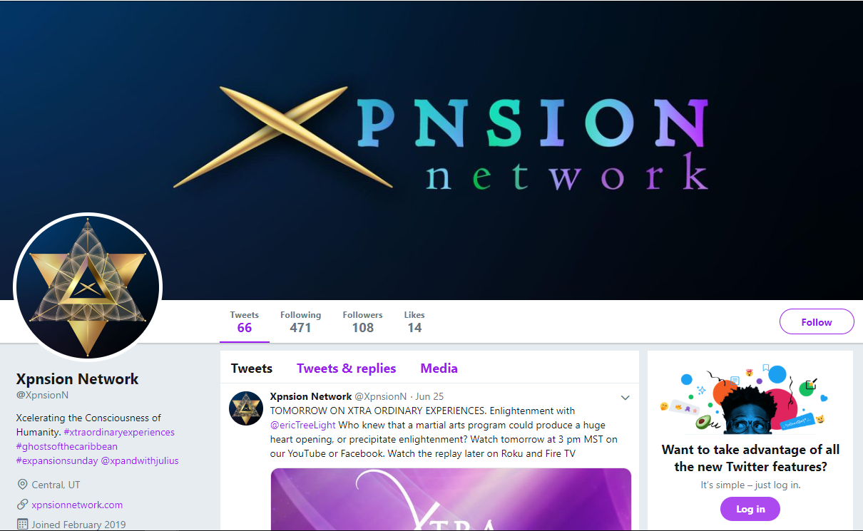 twitter xpnsion | Expand with Julius and Xpnsion Network